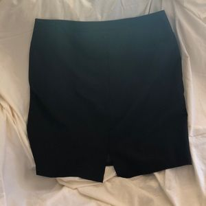 Navy business skirt